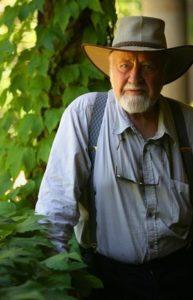 Permaculture guru Bill Mollison.