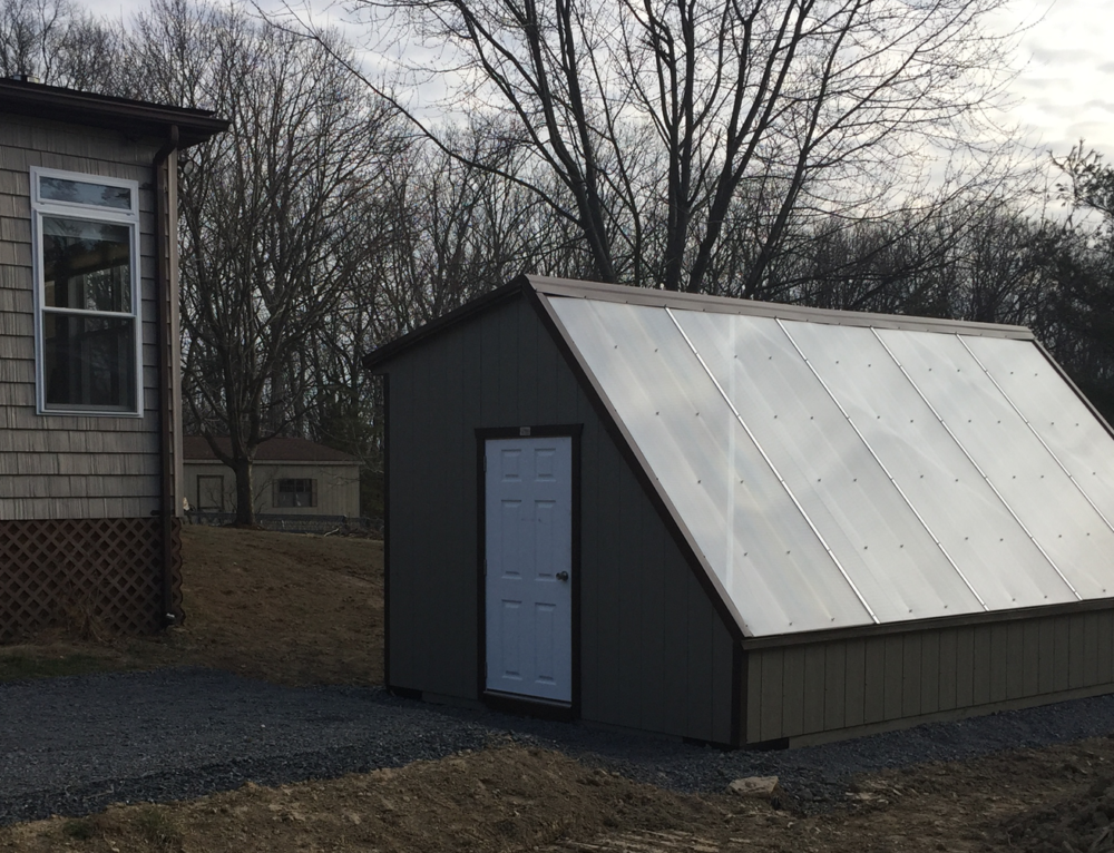 Shippable Passive Solar Greenhouse Project